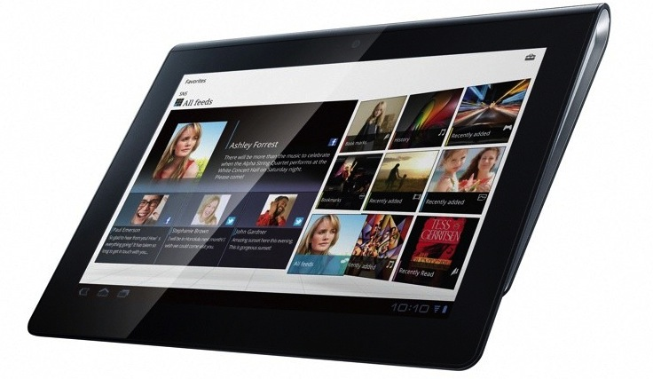 Sony kondigt Android tablets aan
