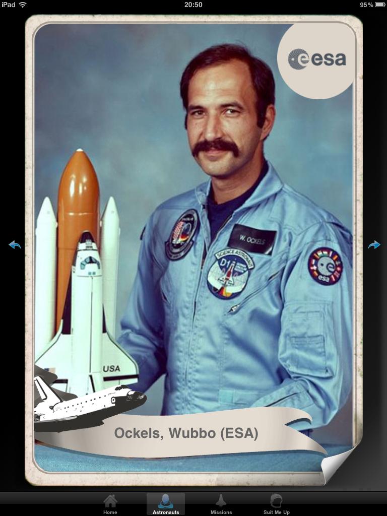 Endeavours laatste reis: Space Shuttle Crew App van NASA