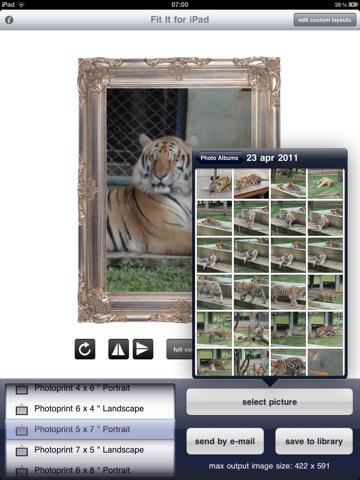 Altijd een passende foto op je iPad met Fit it [PROMOCODES]