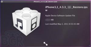 BREAKING: iOS 4.3.3. per direct beschikbaar