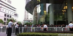 Gewonden in China bij iPad 2 lancering