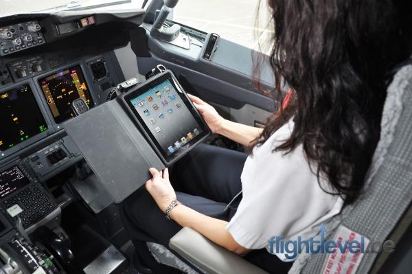 Alaska Airlines kiest voor iPad in vliegtuig
