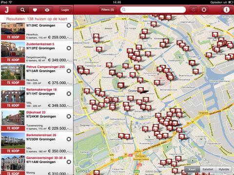 JAAP.nl iPad huizen app nu in App Store [NIET GRATIS]
