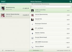 Nu ook Beleggingsinfo in ABN AMRO iPad app
