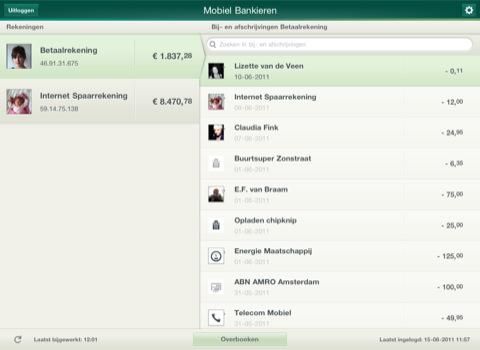 ABN AMRO komt met Mobiel Bankieren voor iPad