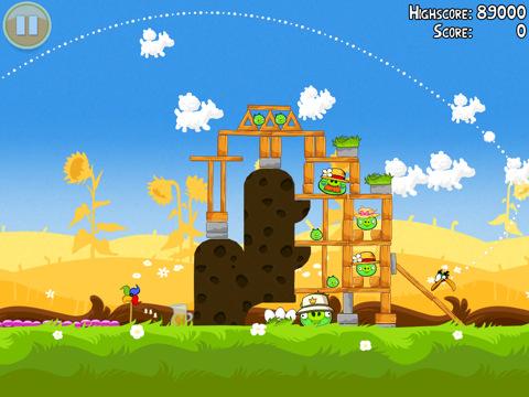 Angry Birds Pignic update nu beschikbaar
