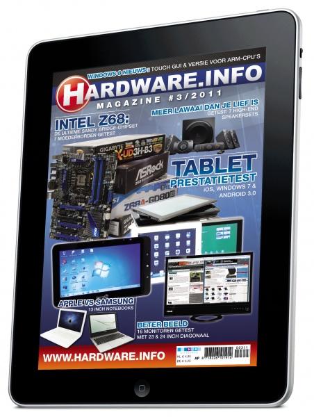 Hardware info magazine nu geschikt voor iPad