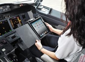 American Airlines bespaart 1 miljoen euro door iPad