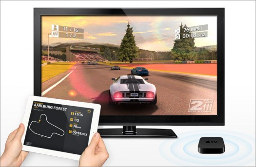 Real Racing 2 HD komt met Airplay Mirroring