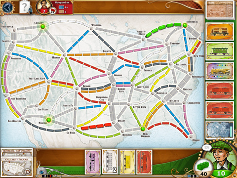 Ticket to Ride krijgt multiplayer optie