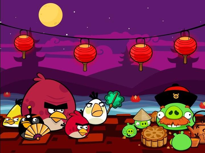 Angry Birds in Chinese stijl – Nieuwe update in aantocht?