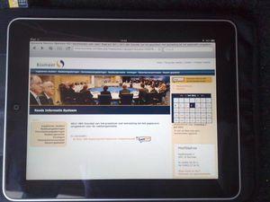 Ook gemeente Boxmeer over naar iPad