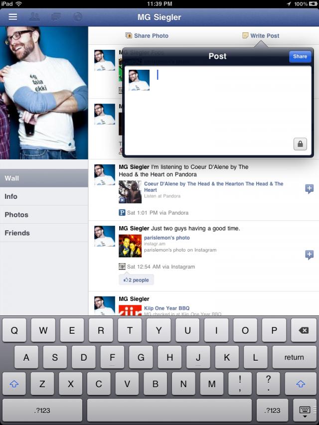 Facebook iPad app zit stiekem al in iPhone versie – probeer het zelf [JAILBREAK]