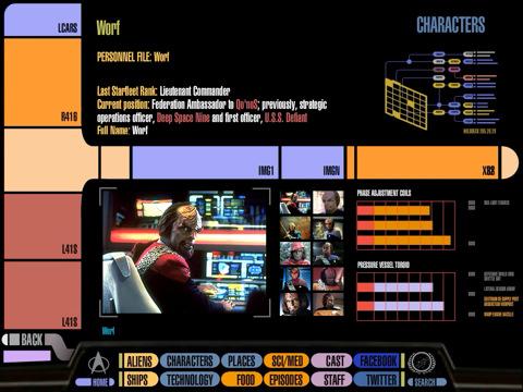 CBS app tovert iPad om in Star Trek PADD