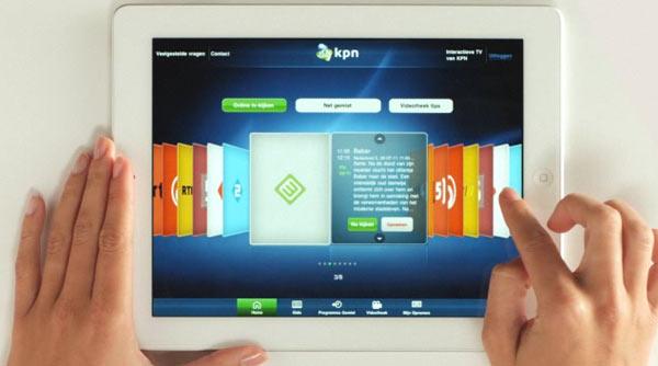 KPN komt met details interactieve TV voor iPad