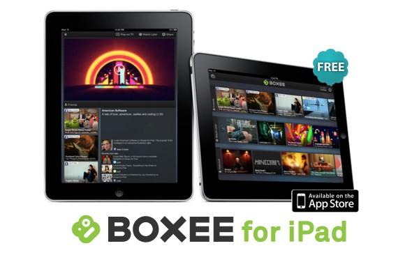 Gratis streamen van Computer naar iPad met nieuwe Boxee app
