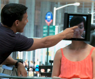 Cosmo for Guys naar iPad mbv ludieke campagne in New York