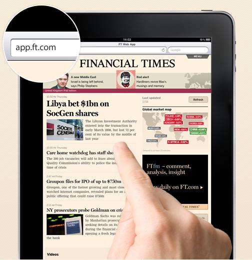 Apple verwijdert Financial Times app wegens schending richtlijnen