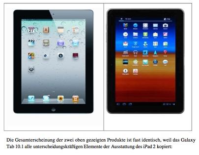 Bewijsmateriaal zaak Apple Samsung onjuist! Opzet of niet?