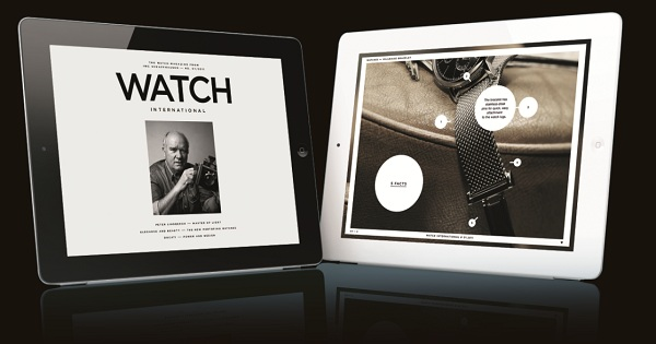 IWC wint Red Dot Design Award voor iPad magazine