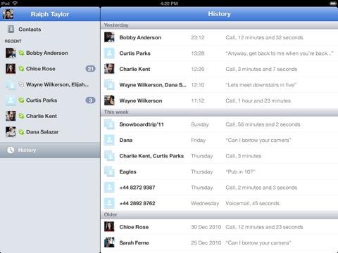 Skype voor iPad nu toch echt beschikbaar