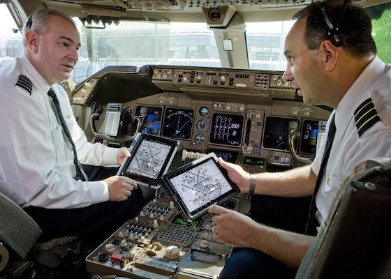 United Airlines bestelt 11.000 iPads voor haar piloten