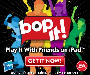 EA lanceert Reactiespel BOP IT! voor iPad
