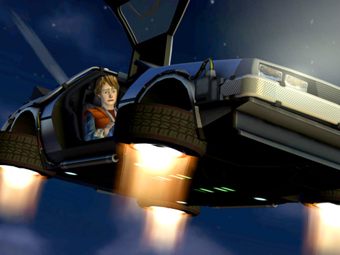 Back to the Future Games nu met 50% korting