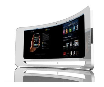 Nieuwe iPads en iPhones met gebogen glas?