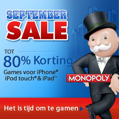 EA Start met September Sale voor iPad games