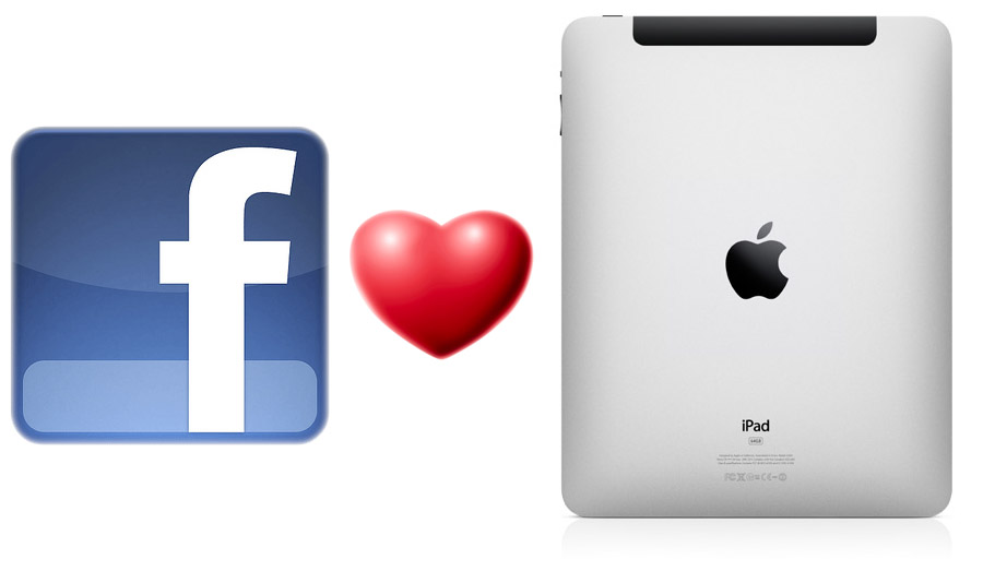 Breaking news: Facebook lanceert iPad app op 4 oktober