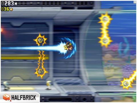 Go Supersonic met JetPack Joyride voor iPad