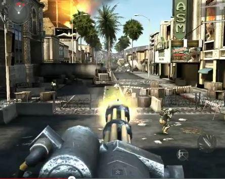 Modern Combat 3: Fallen Nation dendert App Store binnen