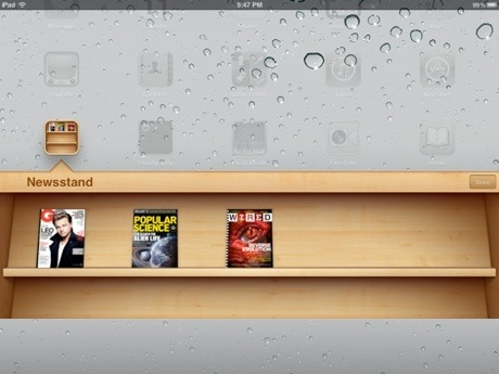 iOS5: Newsstand voor iPad