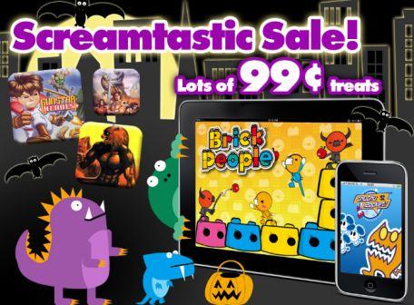 SEGA iPad game sale in App Store