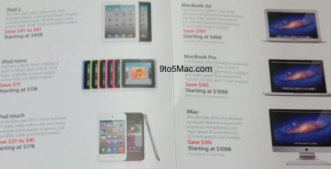 Actieprijzen Black Friday Amerikaanse Apple Store uitgelekt