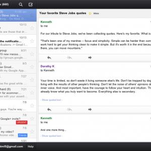 Google lanceert en verwijdert Gmail app voor iPad