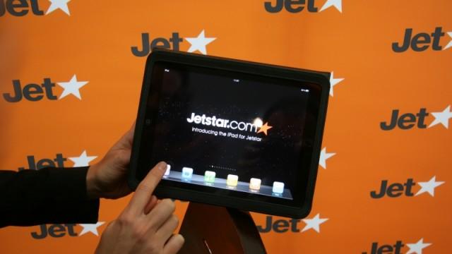 iPad huren aan boord van vliegtuig