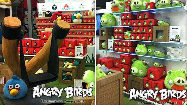 Rovio opent eerste Angry Birds winkel in Helsinki