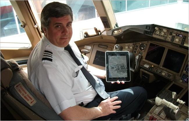 American Airlines werkt als eerste met iPads in cockpit