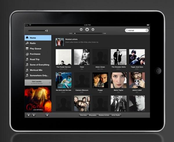 Spotify werkt aan iPad app