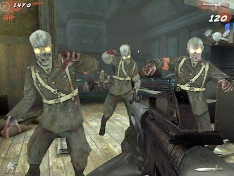 Nieuwe Call of Duty Zombie game voor iPad
