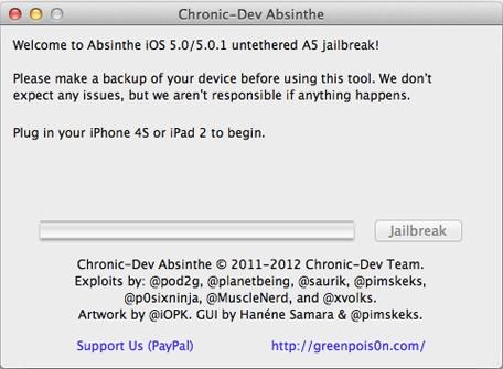 Breaking: Jailbreak voor iPad 2 beschikbaar via GreenPois0n Absinthe