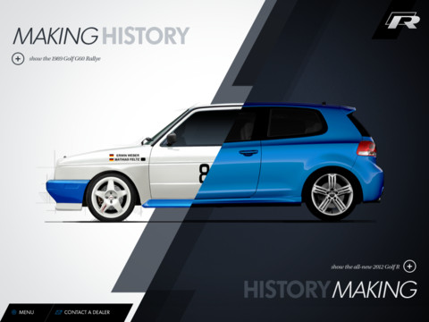 Volkswagen Golf R Drivers Forever voor iPad verschenen