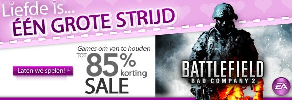 EA Mobile's Grote Valentijn Sale is begonnen