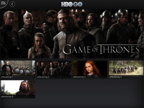 HBO GO nu beschikbaar voor iPad in Nederland