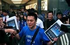 Lagere Chinese rechter verbiedt verkoop iPad