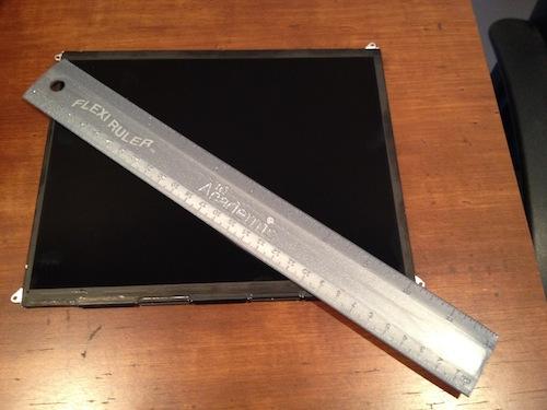 """MacRumors: """"Dit is het iPad 3 scherm en het is RETINA!"""""""