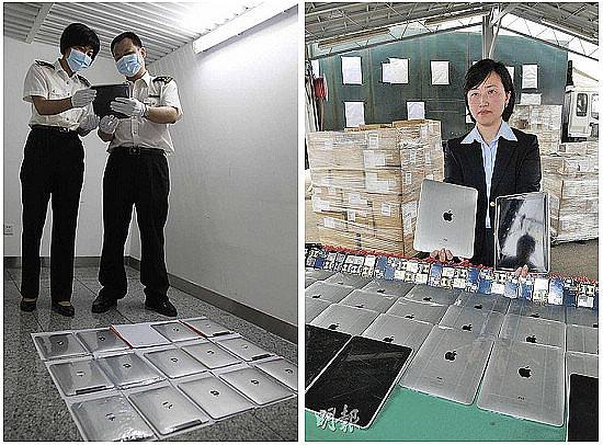 Chinese douane kan iPad ban moeilijk aan
