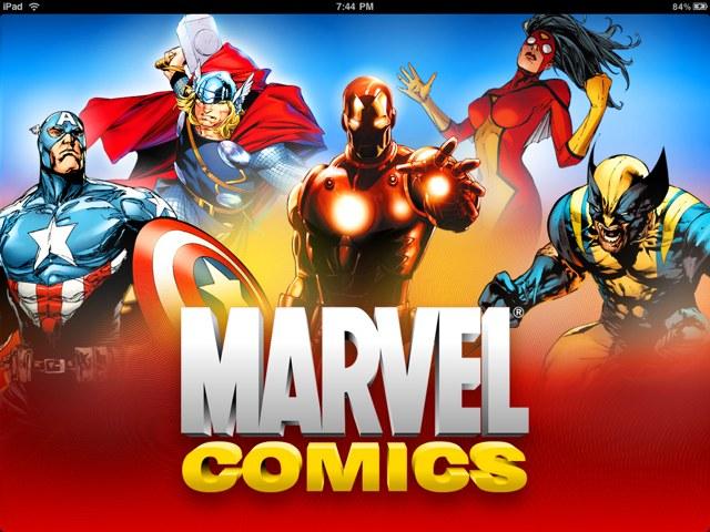 Marvel Comics nu beschikbaar in iBooks Store